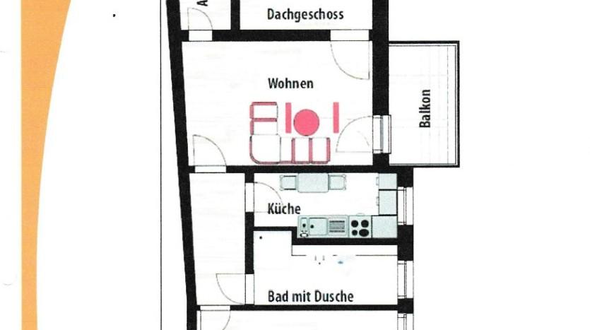 2 Raum Wohnung, Magdeburg, mieten, Immobilienmakler, Immodrom
