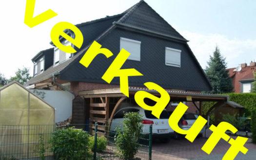 Immodrom, Immobilienmakler Magdeburg »  verkauft:  Hübsches Einfamilienhaus – Doppelhaushälfte in Schermen – vollunterkellert bnA48
