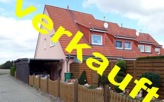 Immodrom, Immobilienmakler Magdeburg - VERKAUFT Kapitalanlage: Einfamilienhaus bei Magdeburg (Reihenendhaus)- Klein Rodensleben wtA761