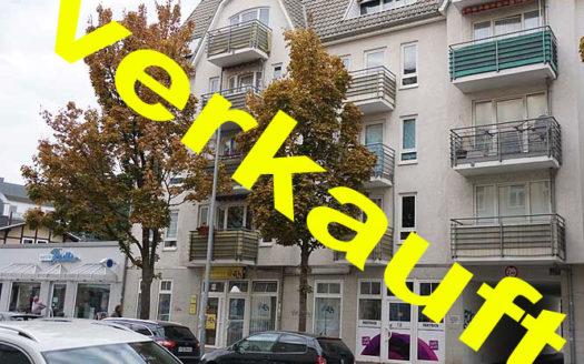 Immodrom, Immobilienmakler Magdeburg -  VERKAUFT:  2,5 Raum Wohnung in Stadtfeld, Einbauküche, Tiefgarage, Fahrstuhl, Balkon wtA762