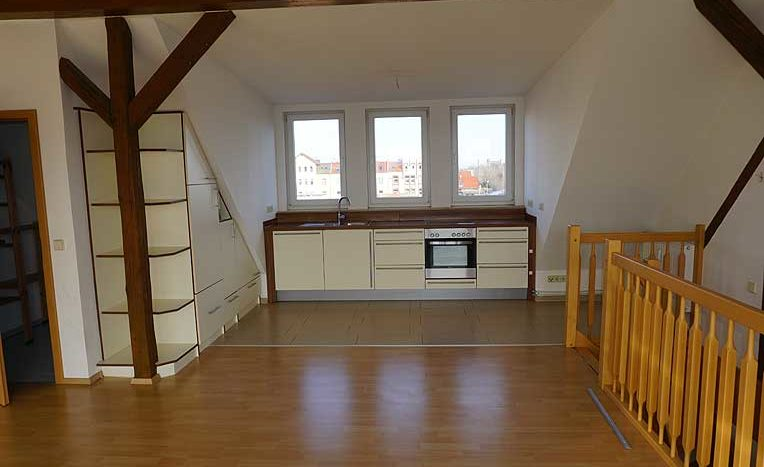 4 Raum Wohnung in Magdeburg, Immodrom , Immobilienmakler in Magdeburg