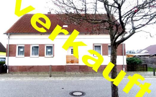 Immodrom, Immobilienmakler Magdeburg »  Verkauft: Viel Platz für wenig Geld! Einfamilienhaus sucht fleißige Hände bnA49