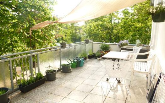 Immodrom, Immobilienmakler Magdeburg »  Traumhaft Wohnen in Möser/OT Schermen 3 Raum Wohnung mit großer Dachterrasse bnA52