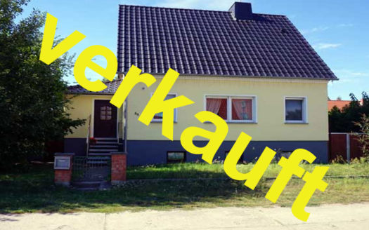 Immodrom, Immobilienmakler Magdeburg - VERKAUFT: Einfamilienhaus in Parey wtA807
